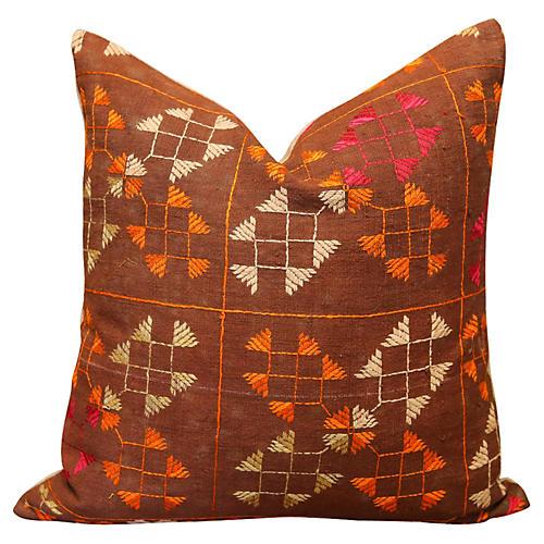 Sowri Bagh Phulkari Pillow