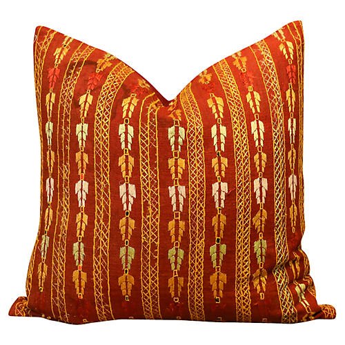Sahm Bagh Phulkari Pillow