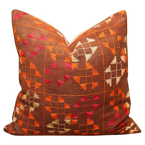 Gauri Bagh Phulkari Pillow