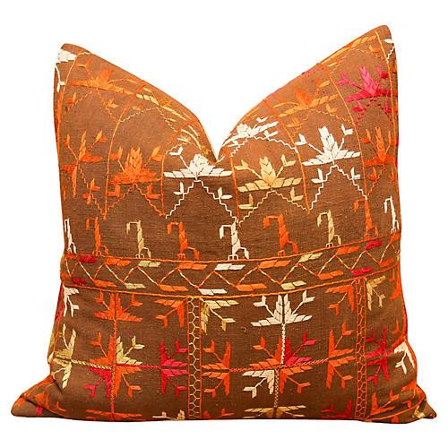 Rimpi Bagh Phulkari Pillow
