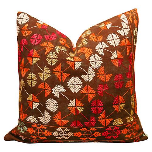 Nargis Bagn Phulkari Pillow