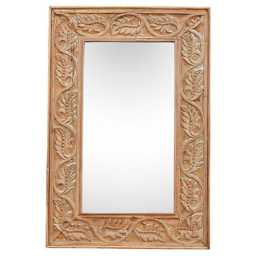 Carved Vine Mirror