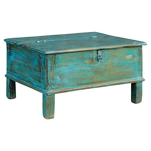 Manjusha Colonial Blue Box