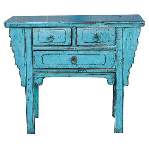 Vintage Turquoise Altar Dresser