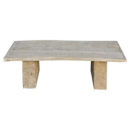 Robust Elm Wood Coffee Table