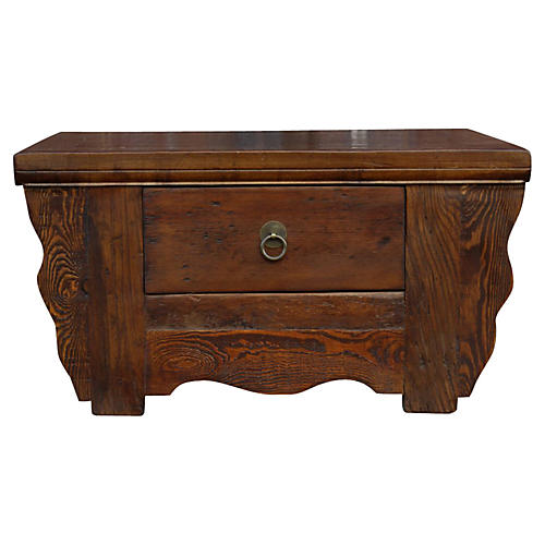 Vintage Elm Kang Table