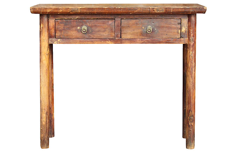 19th Century Rustic Chinese Table