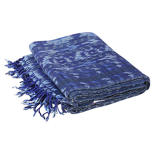 Amba Ikat Throw