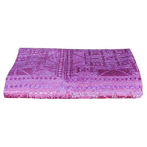 Lilac Sheesha Coverlet