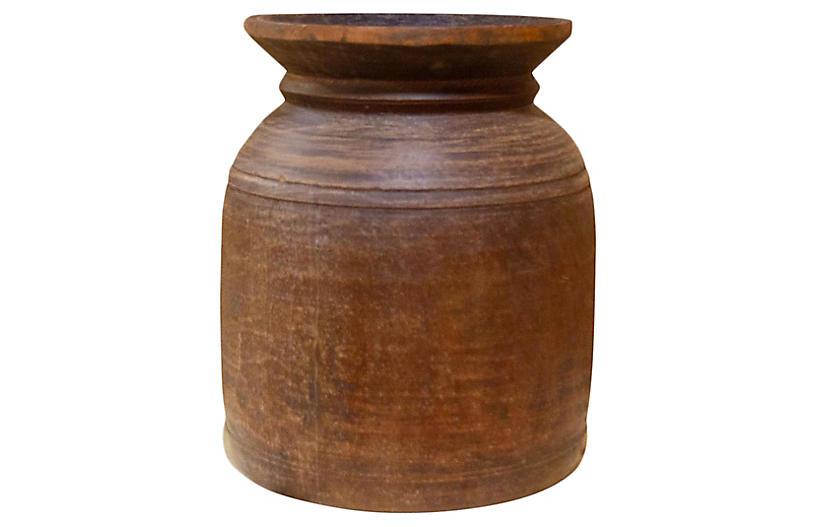 Rei Nepalese Tribal Ghee Pot