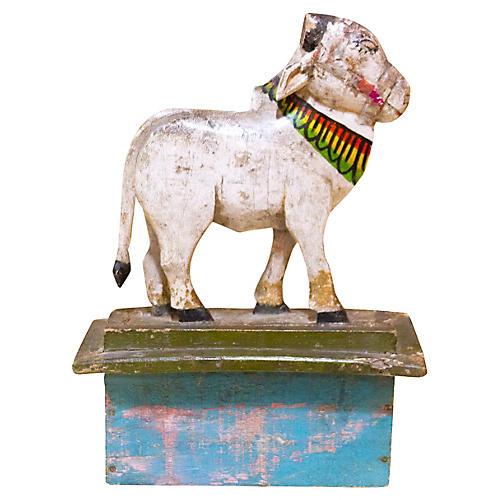 Heer Nandi Wooden Figure