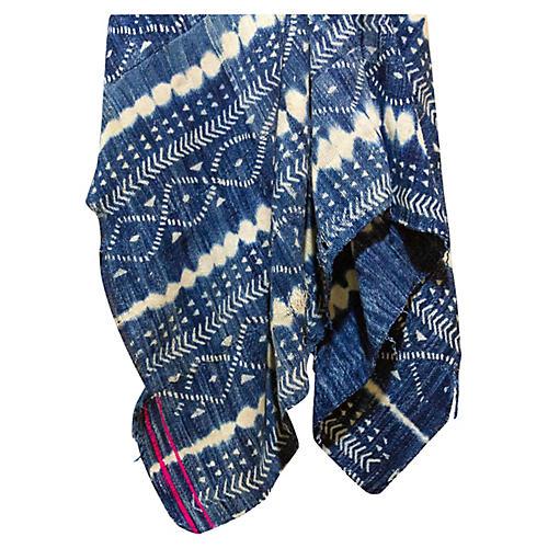 Leïla Indigo African Mud Cloth