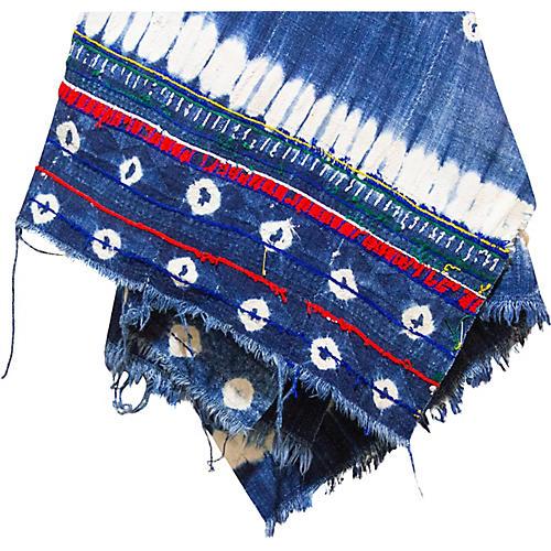 Issa Indigo African Mud Cloth