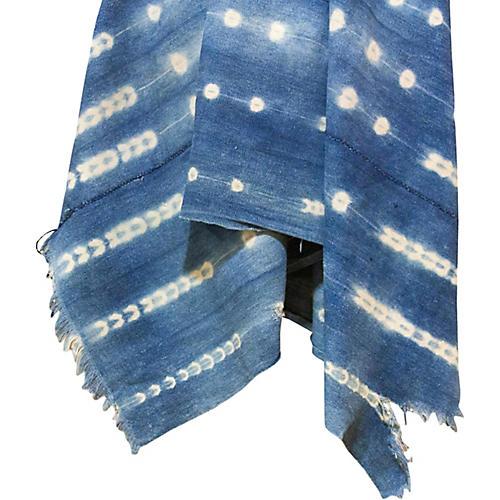 Ali Indigo African Mud Cloth