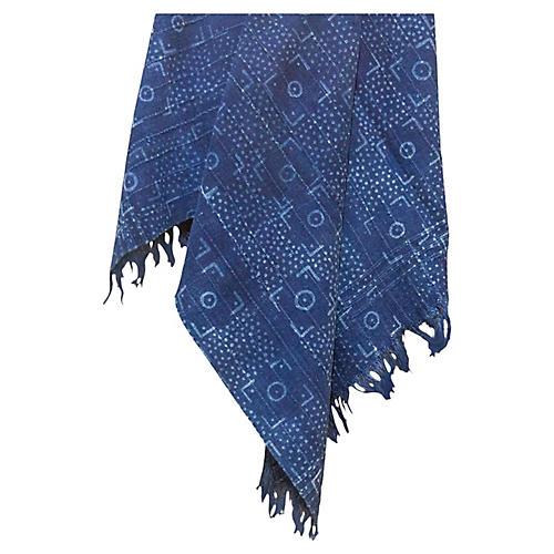 Deni Indigo African Mud Cloth
