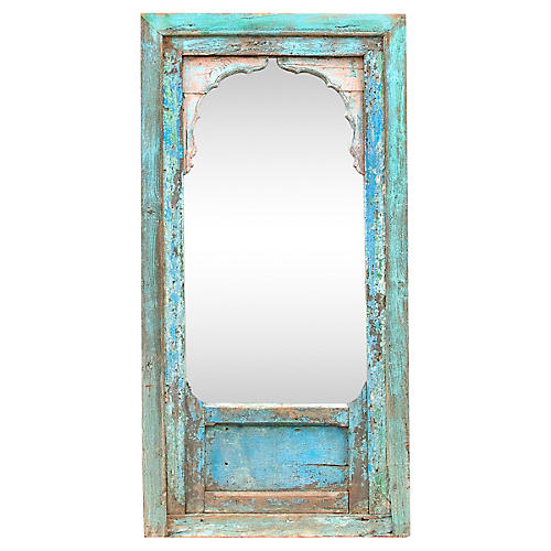 Jharokha 19th Century Arched Mirror