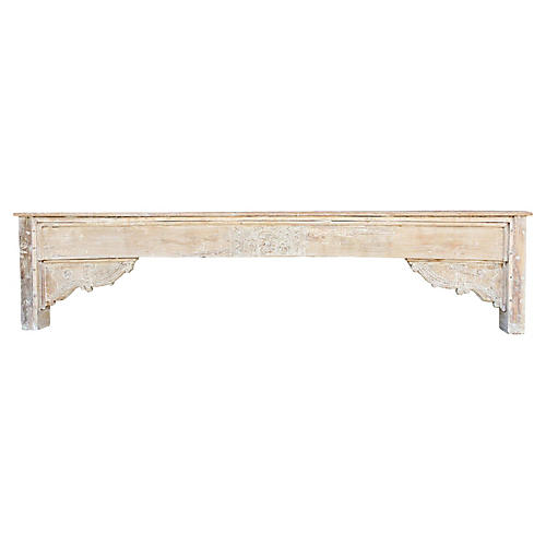 Stunning 19th C. Architectural Console