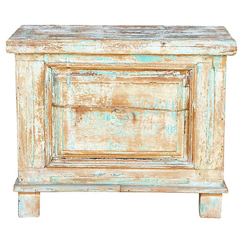 Kabara Old Wood Painted Chest