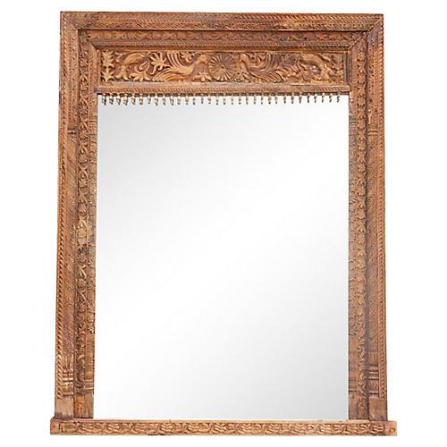 Antique Machali Floor Mirror