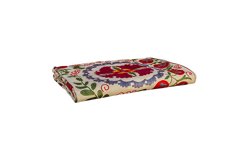 Chakra Antique Suzani Tapestry