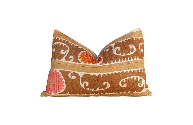 Lovely Suzani Lumbar Pillow