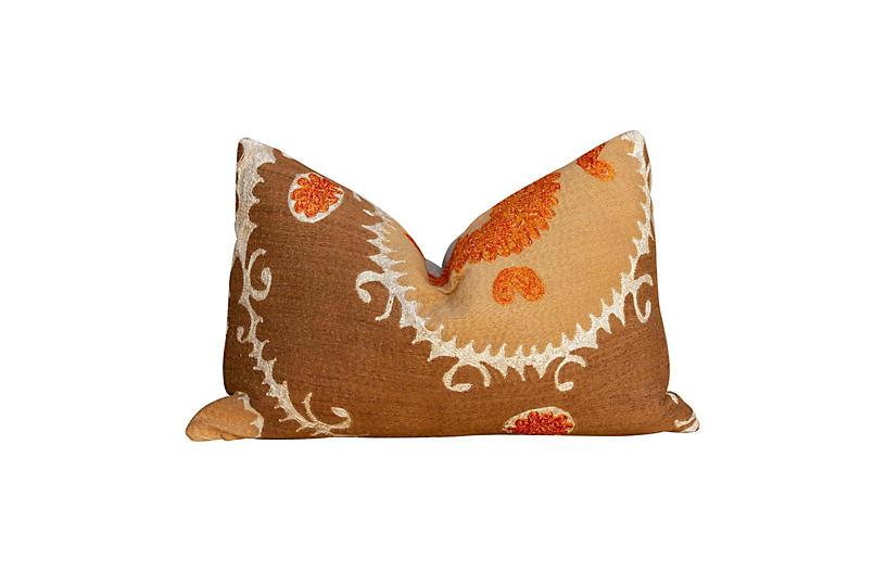 Beautiful Suzani Lumbar Pillow