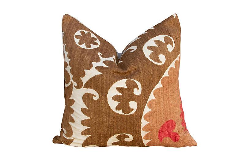 Rajvi Suzani Square Pillow