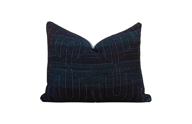 Mina Antique Tribal Grain Sack Pillow