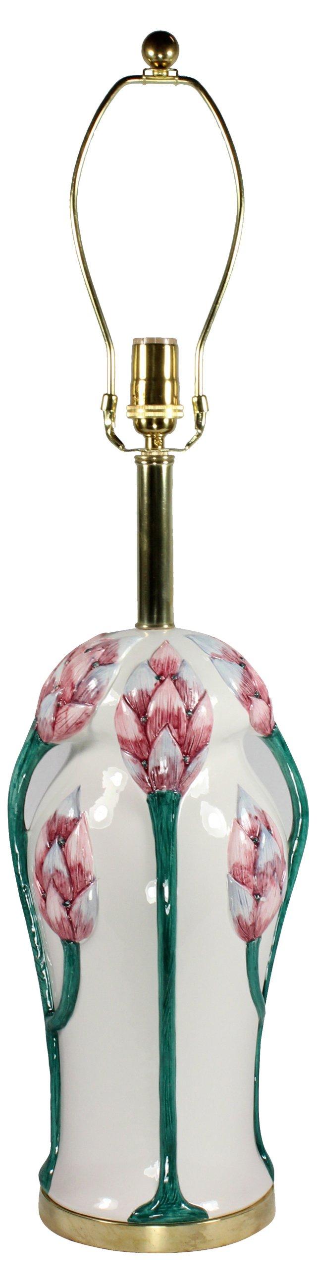 Chapman Ginger Flower Lamp