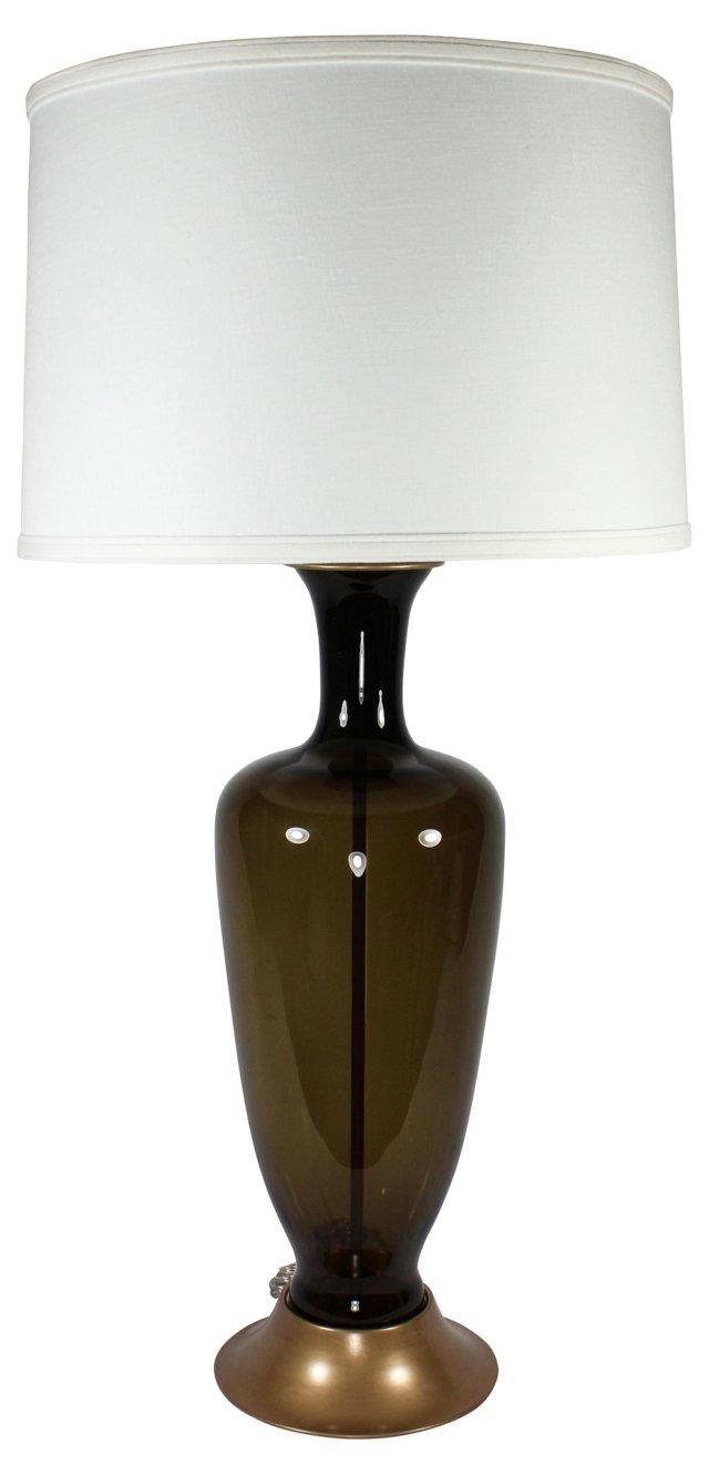1950s Murano Glass Lamp Base