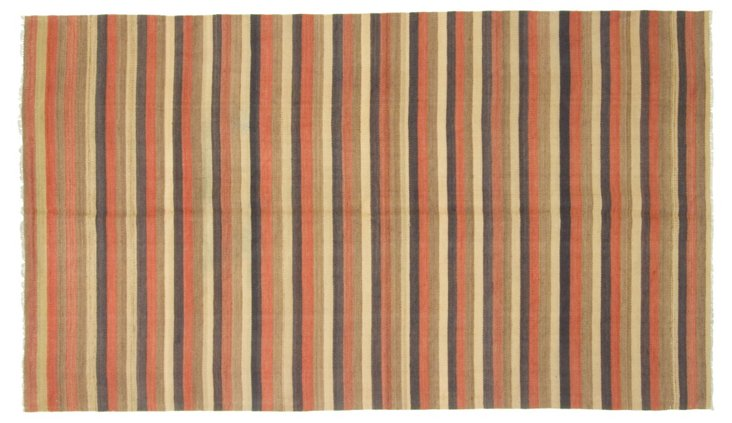 "Turkish Kilim, 4'8"" x 8'4"""