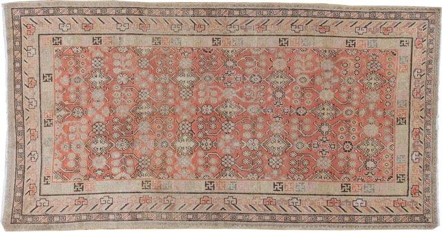 "Antique Khotan, C. 1900, 5'2"" x 9'9"""