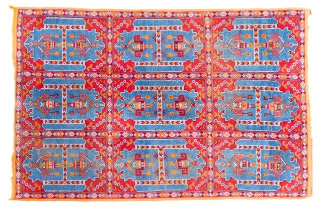 "Moroccan Rug, 5'4"" x 8'"