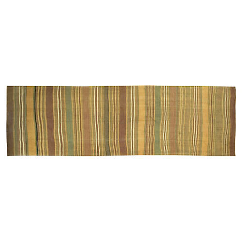 "Turkish Kilim, 5'2"" x 16'5"""