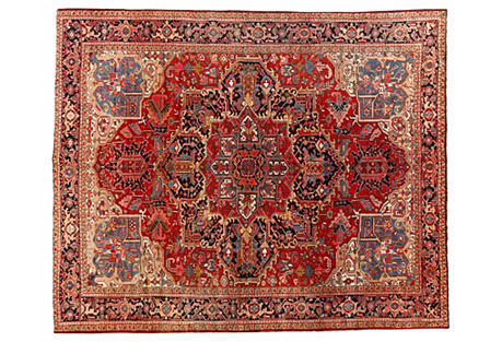 Persian Heriz Rug, 10'1