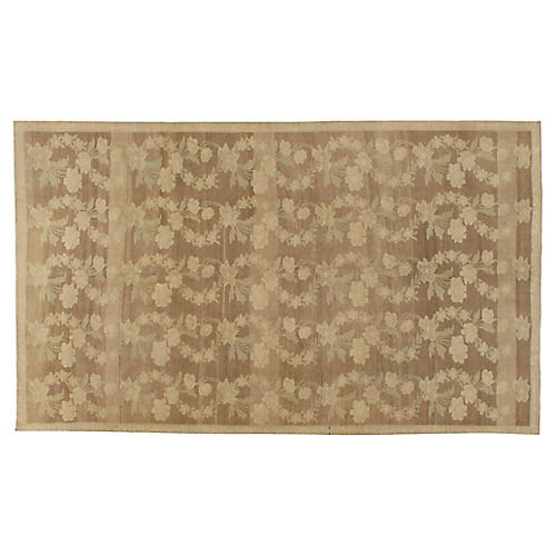 "Turkish Trellis Design Rug, 5'8"" x 9'10"""