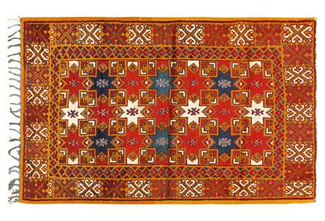 Moroccan Rug, 4'1