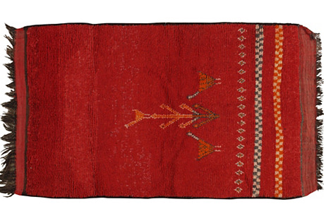 Moroccan Rug, 3'10
