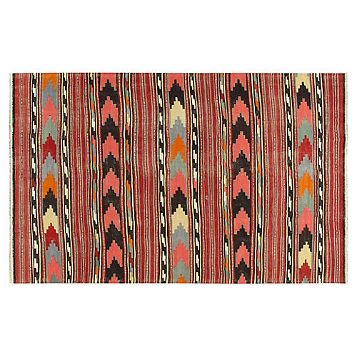 "Turkish Kilim, 7'2""x 12'2"""