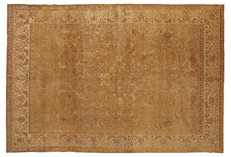 Indo Tabriz Rug, 9' x 13'4