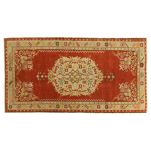 Turkish Kars Rug, 3' x 6'