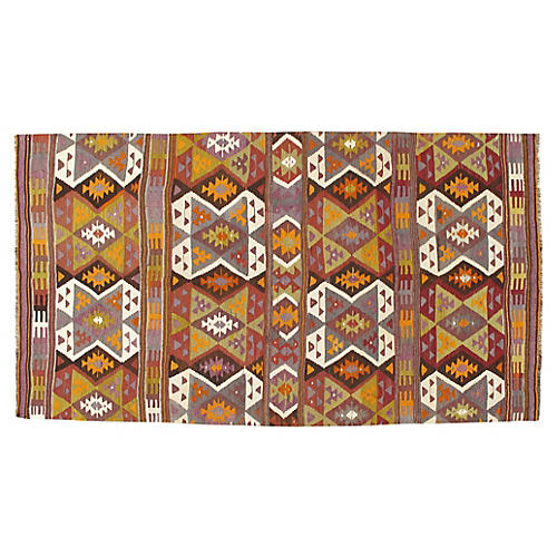Turkish Kilim 5' x 9'