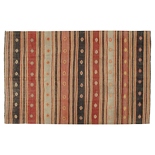 Turkish Kilim 6' x 9'6