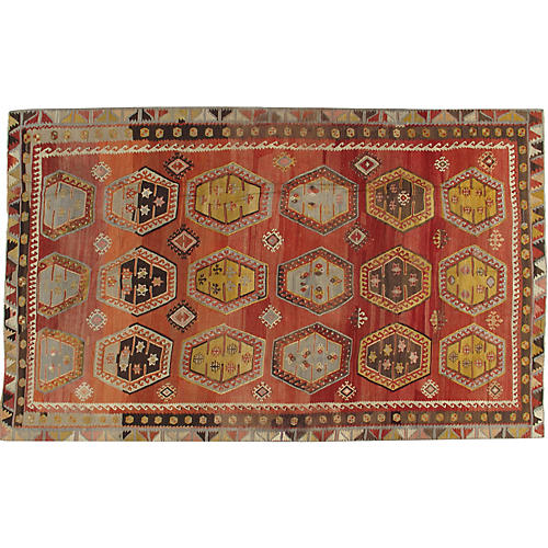 Turkish Kilim Rug 7' x 11'5