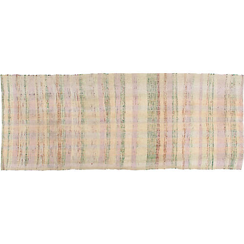 Turkish Kilim, 3'2x 8'4