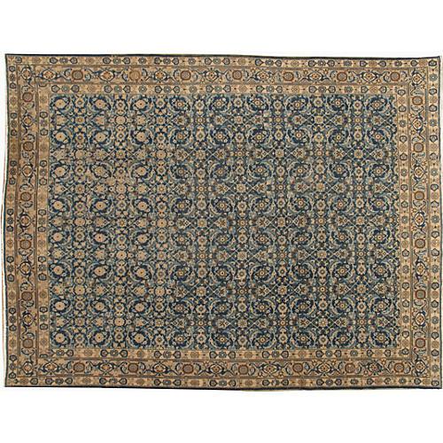 Persian Tabriz Rug 7'9 x 10'3