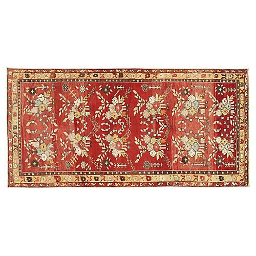 Turkish Oushak Rug 4'10 x 8'3