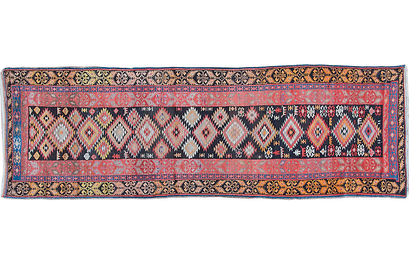 Antique Karabagh Runner, 3'9