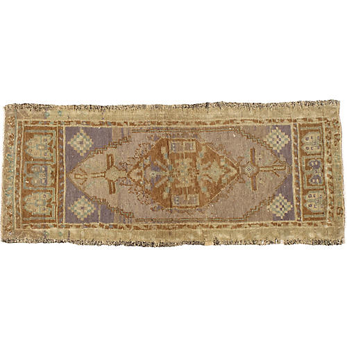 Turkish Yastik Rug 1'5 x 3'6