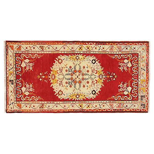 Turkish Konya Rug 3'3 x 6'6